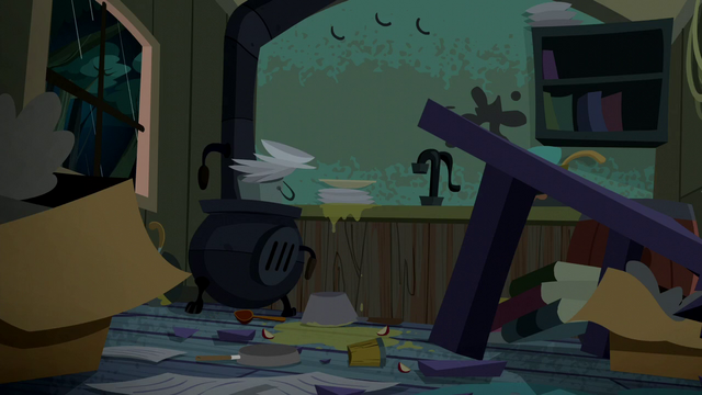 File:Cider spilled all over Trouble Shoes' kitchen S5E6.png