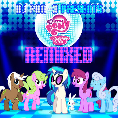 File:Friendship is Magic Remixed album cover.jpg