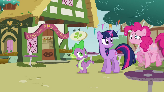 File:Pinkie Pie shaking all her hooves S3E3.png