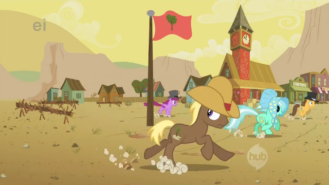 File:Ponies run from the buffalo S1E21.png