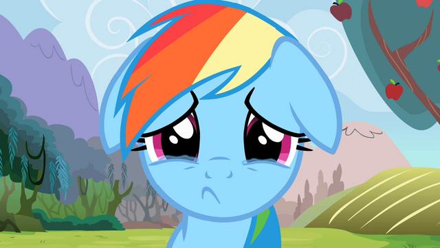 File:Rainbow Dash Sad S2E15.png