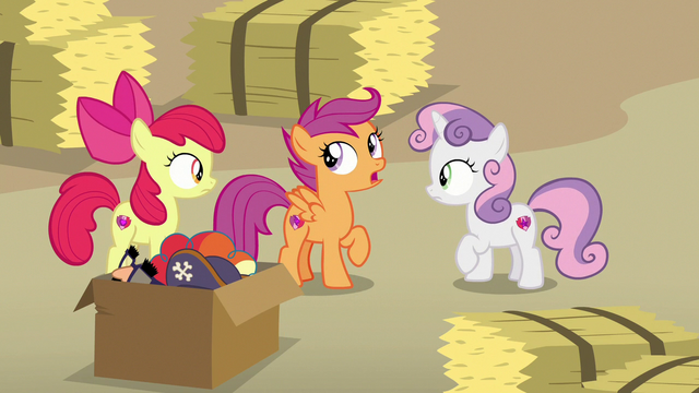 """File:Scootaloo """"you saw how shifty he was acting"""" S7E8.png"""