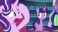 """Starlight """"baking a cake with Pinkie Pie freaks me out!"""" S6E21"""