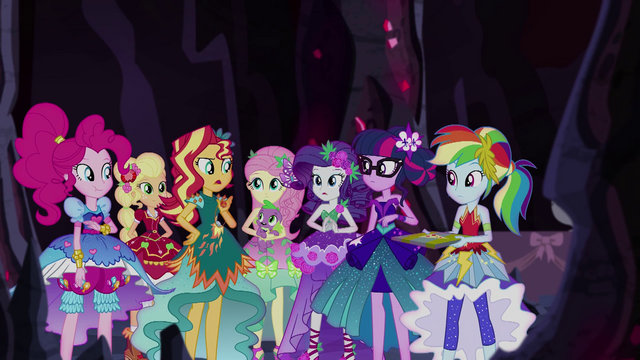 """File:Sunset Shimmer """"the source of the superpowers"""" EG4.png"""