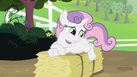 Sweetie Belle 'She thinks I'm uncouth' S2E05