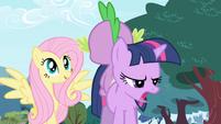 Fluttershy Spike and Twilight S01E01