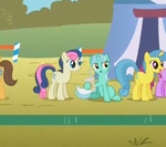 Lyra Heartstrings and her cup
