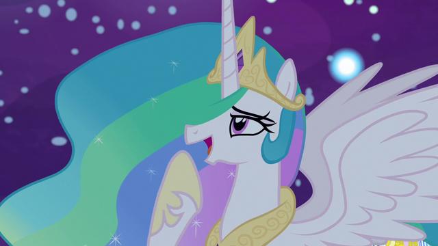 "File:Princess Celestia ""good call, Celestia!"" S7E10.png"
