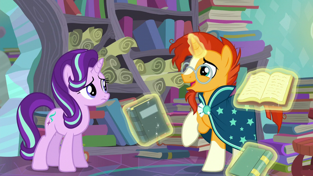 "File:Sunburst ""isn't looking for a spell"" S6E2.png"