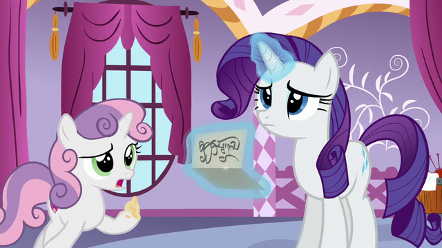 "File:Sweetie Belle ""what does it mean?"" S6E15.png"