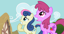 Sweetie Drops and Berryshine are terrified S2E8
