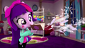 Twilight blowing feathers off her book EGM4.png