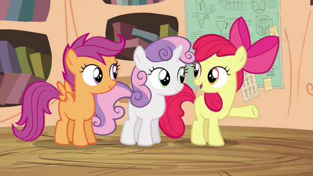 """File:Apple Bloom """"everything's working out just fine"""" S4E15.png"""