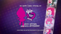 Pinkie Pie's Slumber Party - Pinkie Pie intro (Latin American Spanish) EGM1