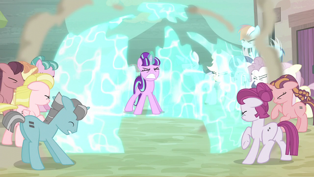 File:Starlight pushes ponies back with barrier S5E2.png