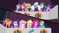 Wonderbolts and Shadowbolts on opposing sides EG3.png