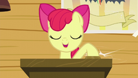 Apple Bloom calls CMC meeting to order S5E4