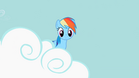 Rainbow Dash looking out S2E8