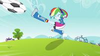 Rainbow Dash soccer kick EG