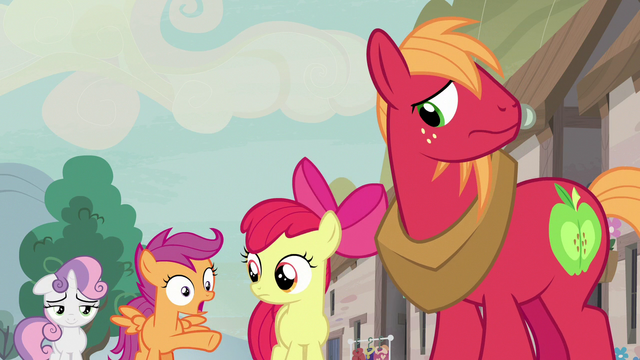 File:Scootaloo surprised by Feather's successful pickup lines S7E8.png