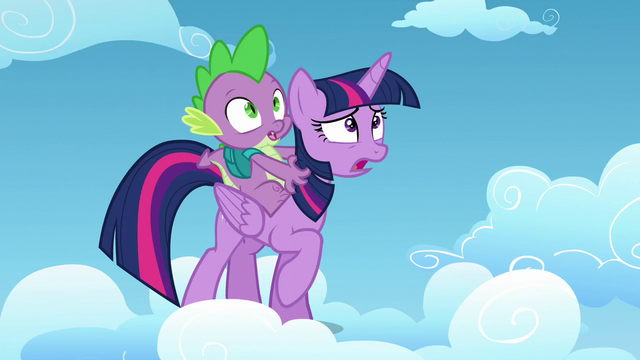 File:Twilight Sparkle and Spike look at Starlight Glimmer S5E26.png