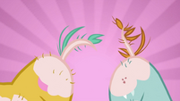 Close-up of Snips' and Snails' flank S2E23