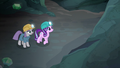 Maud and Starlight looking at granite wall S7E4.png