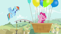 Pinkie with bubbles S4E12
