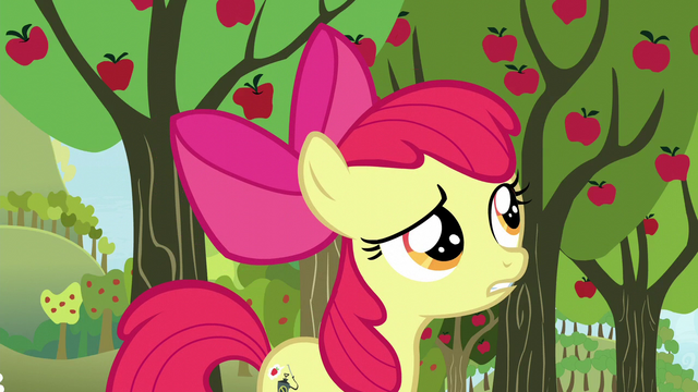 "File:Apple Bloom asks ""Twittermites?"" S5E04.png"