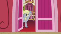 Derpy looking outside town hall S5E9