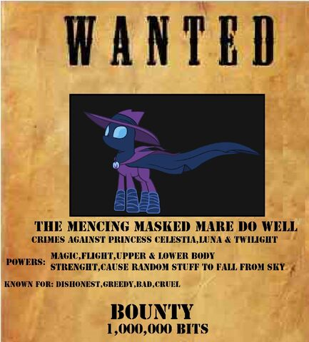 File:FANMADE Mare Do Well Wanted Poster.jpg