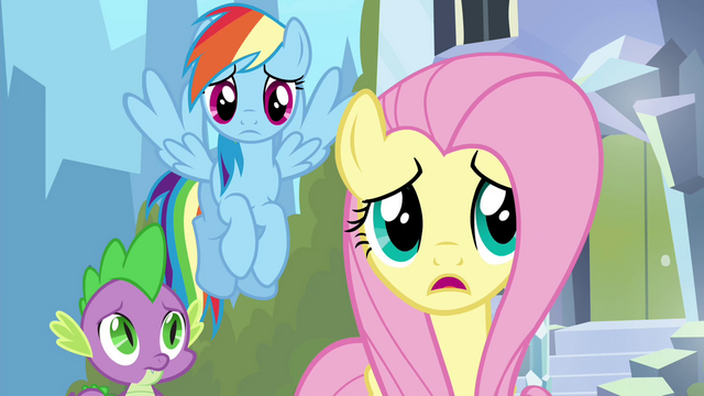 """File:Fluttershy """"what's wrong, Twilight?"""" S4E25.png"""