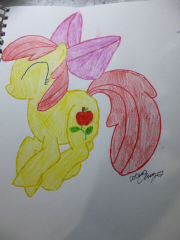 File:FANMADE Apple Bloom with cutie mark.jpg