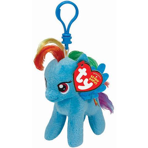 File:Rainbow Dash Ty Beanie Baby keychain.jpg