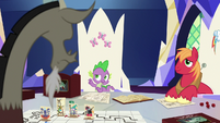 """Spike """"what if you toned it down"""" S6E17"""