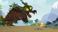 Spike saves Applejack 6 S3E09