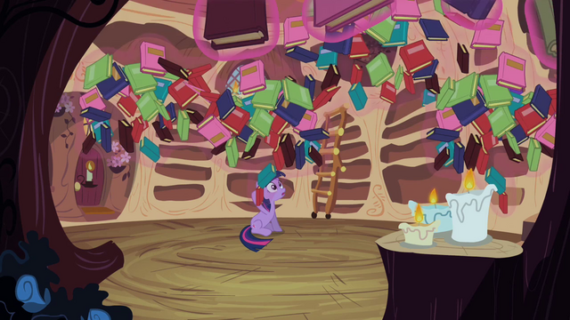File:Twilight's books dropping S2E10.png