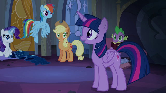File:Twilight talking with her friends S4E03.png