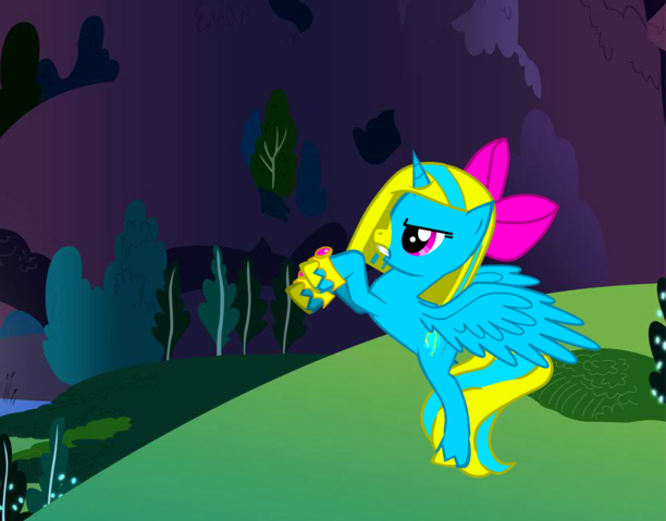 File:FANMADE Pony Zap.png