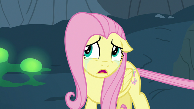 """File:Fluttershy Changeling """"just go find the others"""" S6E26.png"""