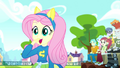 Fluttershy impressed by cheer results SS4.png