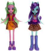 Friendship Games School Spirit Lemon Zest and Sunny Flare dolls