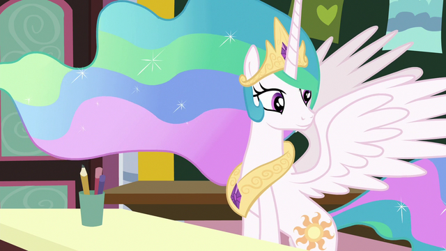 File:Princess Celestia observing her class of fillies S7E1.png