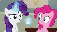 Rarity crumples flyer into a ball S6E12