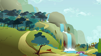 Waterfall and hill climb S3E6