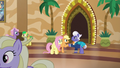 Applejack shaking hooves with Gladmane S6E20.png