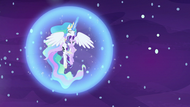 File:Celestia creates another barrier around herself and Starlight S7E10.png