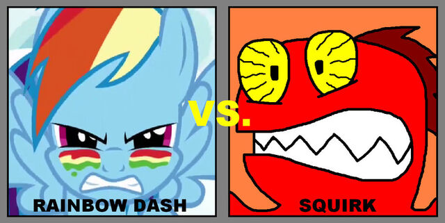 File:FANMADE Rainbow Dash vs. Squirk by ian2x4.jpg