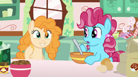 Pear Butter approves of Chiffon Swirl's baking S7E13