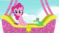 "Pinkie Pie ""friendship ambassador road trip game!"" S7E11"